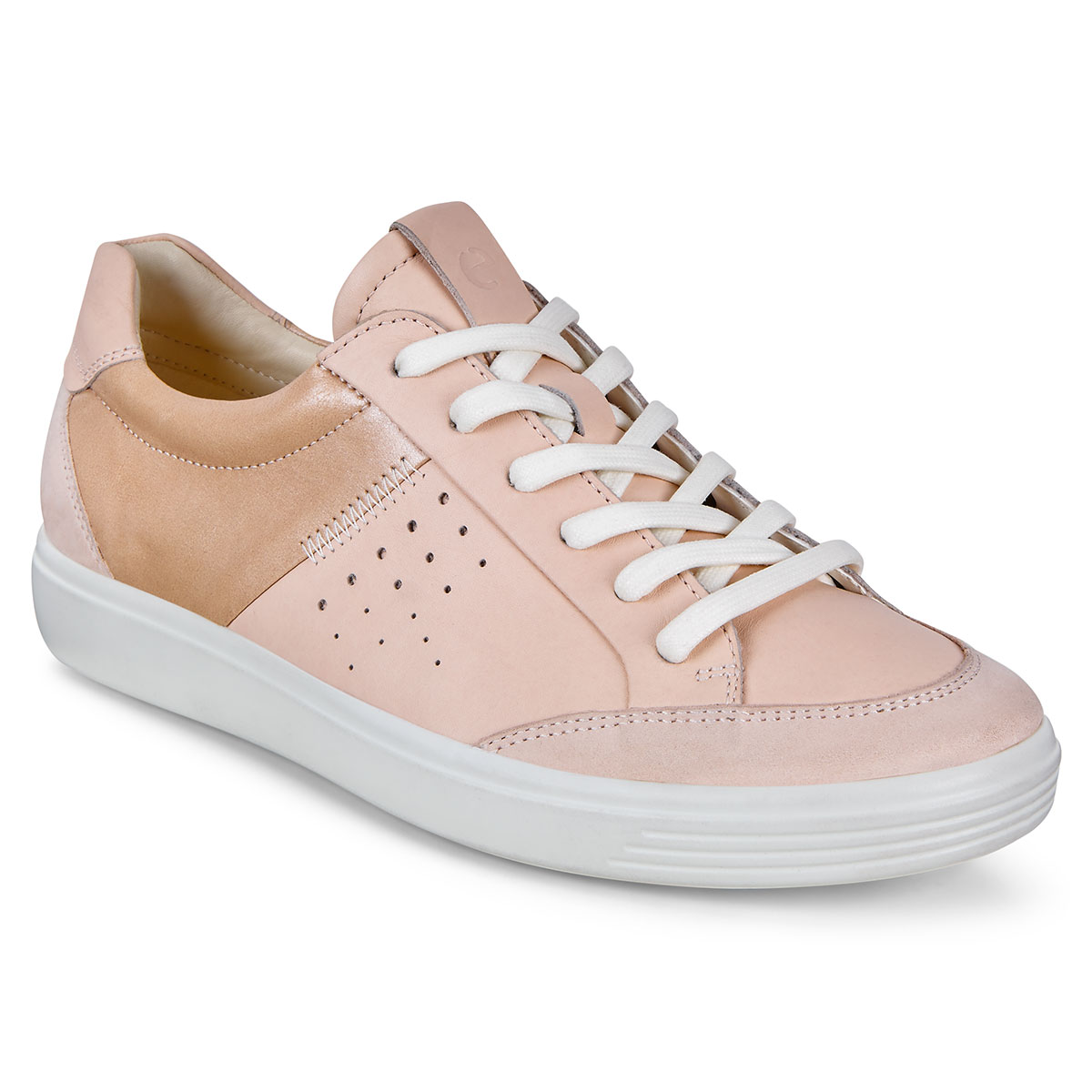 Ecco Womens 2019 Soft 7 W Powder Cushion Sole Leather Trainers Shoes