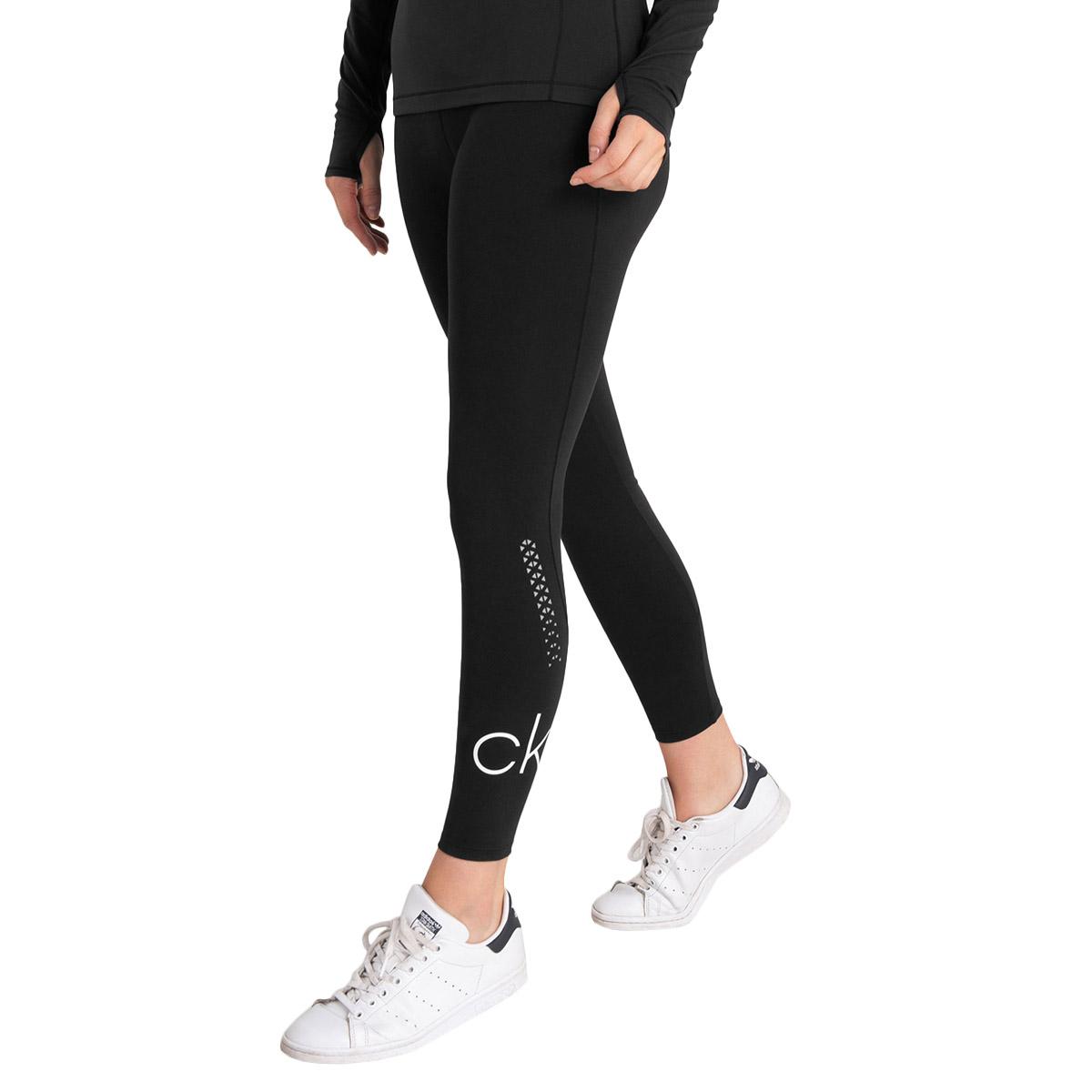 Calvin Klein Womens 2020 Energy Breathable Moisture Wicking Leggings Baselayer