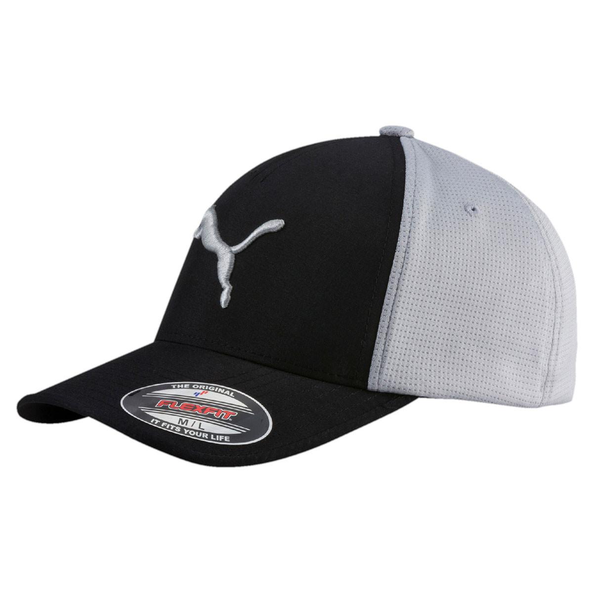 Puma Golf Mens DryCell Flexfit Fitted Cap Moisture-Wicking Sweatband 19b34cd5ddd