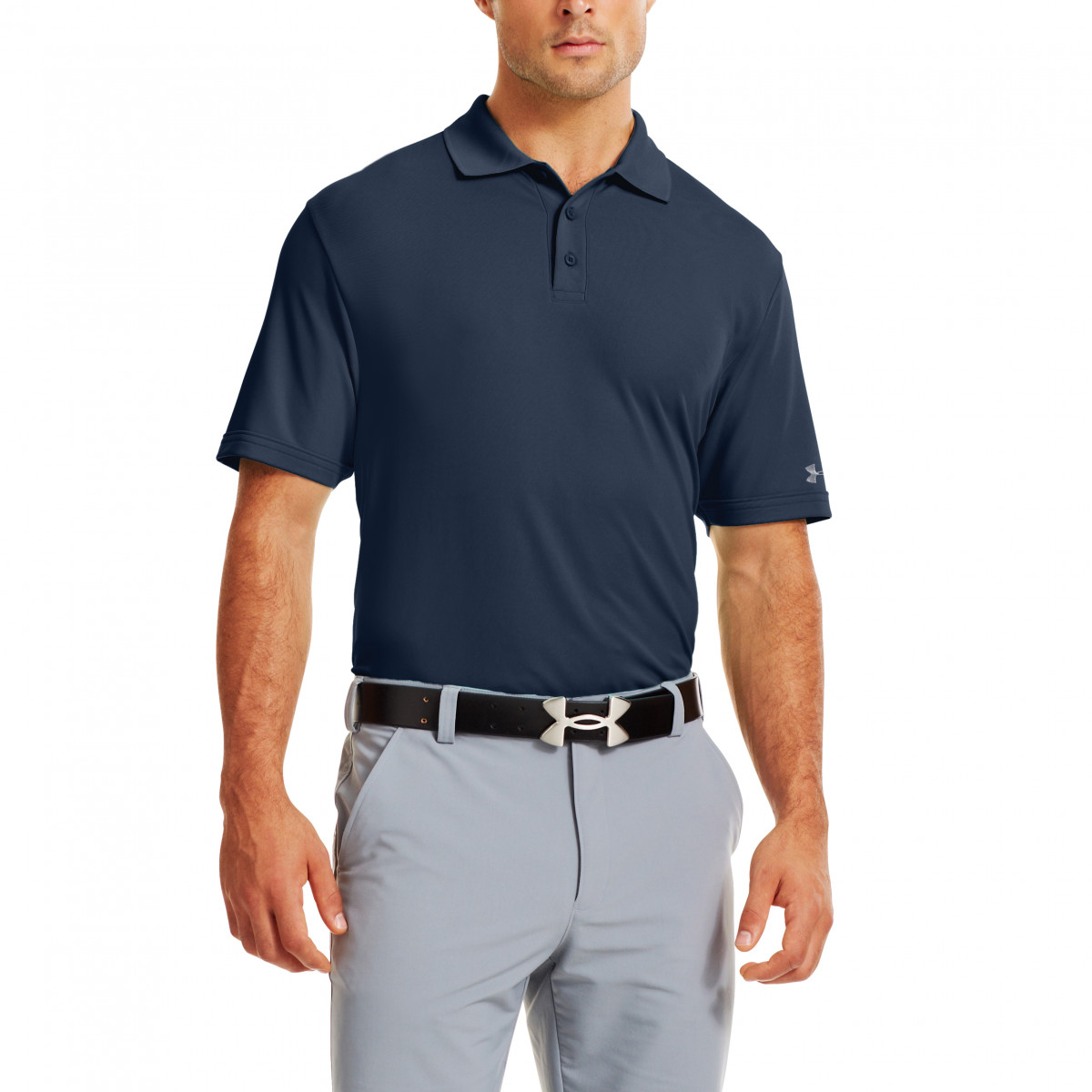 7413839ac Under Armour Mens Medal Play Performance Golf Polo Shirt