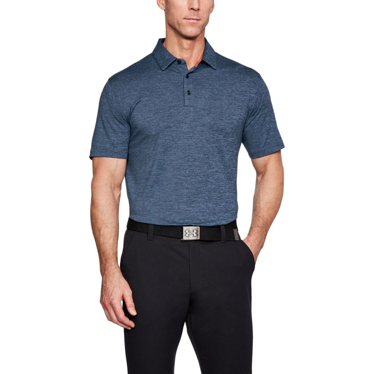 33558831c0b162 Under Armour Mens Crestable Playoff Golf Polo Shirt