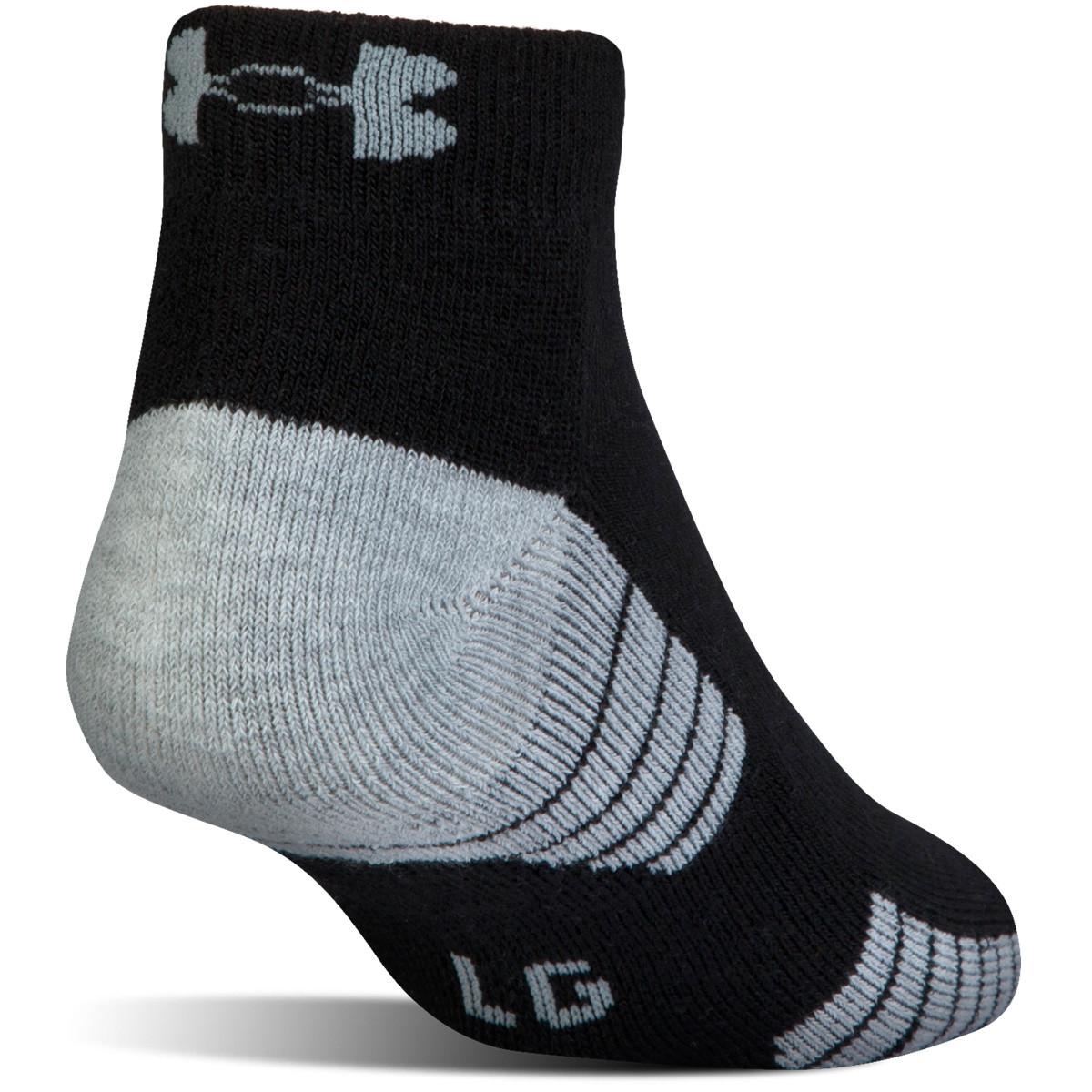Under Armour Men/'s Heatgear Tech Lo Cut Socks 3 Pack Choose SZ//Color