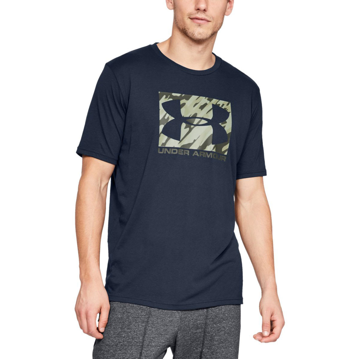 38011340 Under Armour Mens 2019 UA Boxed Sportstyle T-Shirt