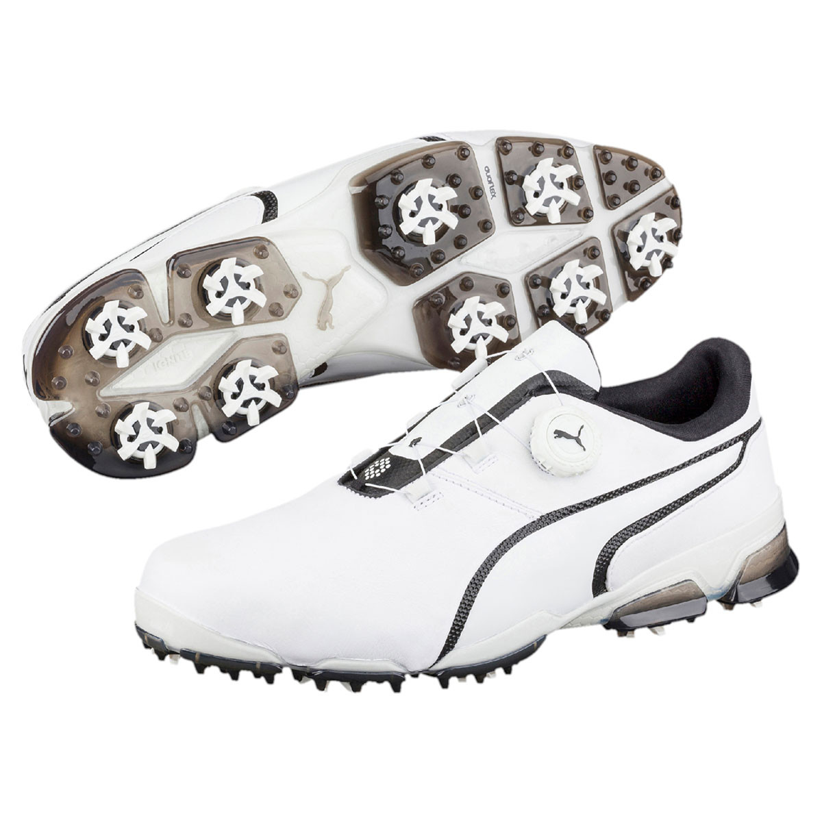 Puma Golf Mens Waterproof TitanTour Ignite Disc Golf Shoes a2125381b
