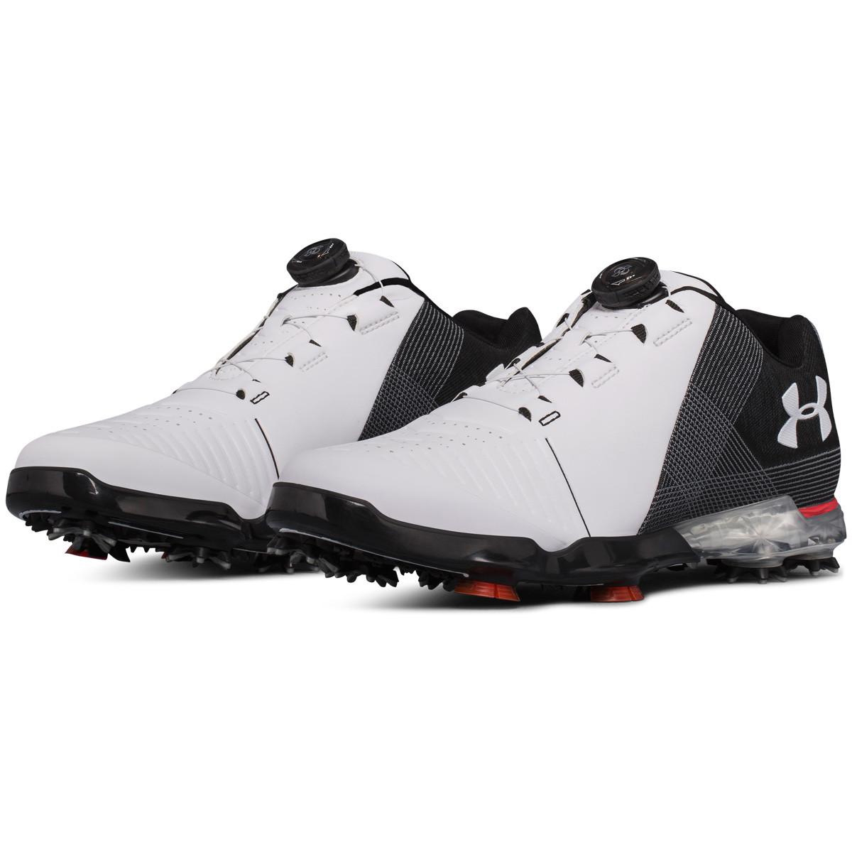 ff90ad05bb0 Under Armour Mens UA Spieth 2 BOA Waterproof Golf Shoes