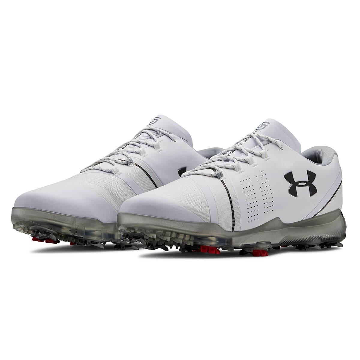 e1e23fa6c807 Under Armour Mens 2019 UA Spieth 3 GTX E Waterproof Golf Shoes
