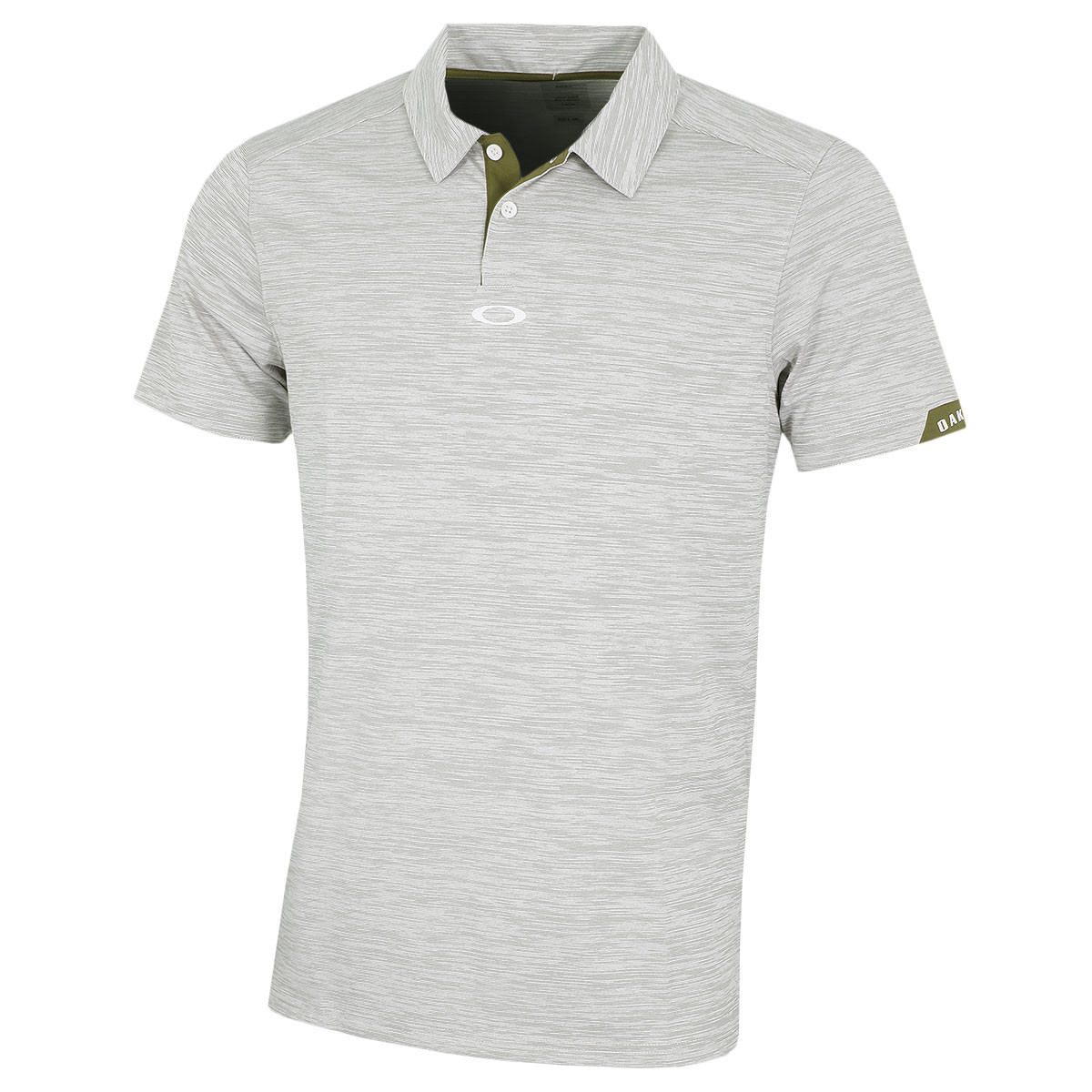289e997c9a Oakley Mens 2019 Gravity Moisture Wicking Tailored Golf Polo Shirt 26% OFF  RRP