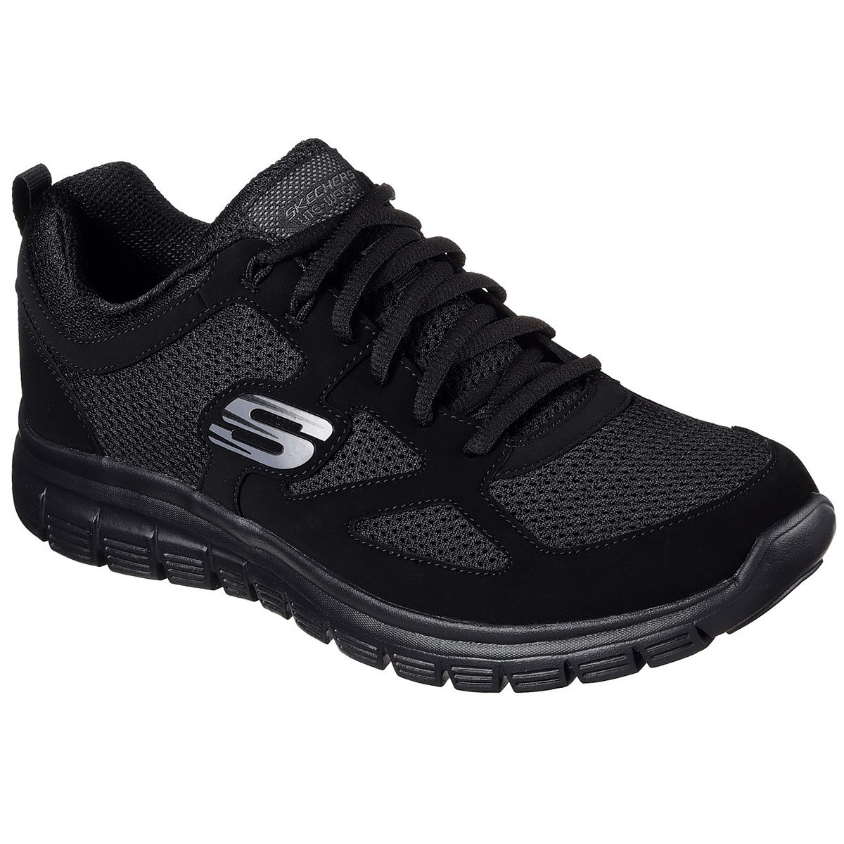 meet 42fe1 7267a Skechers Mens 2019 Burns Agoura Trainers