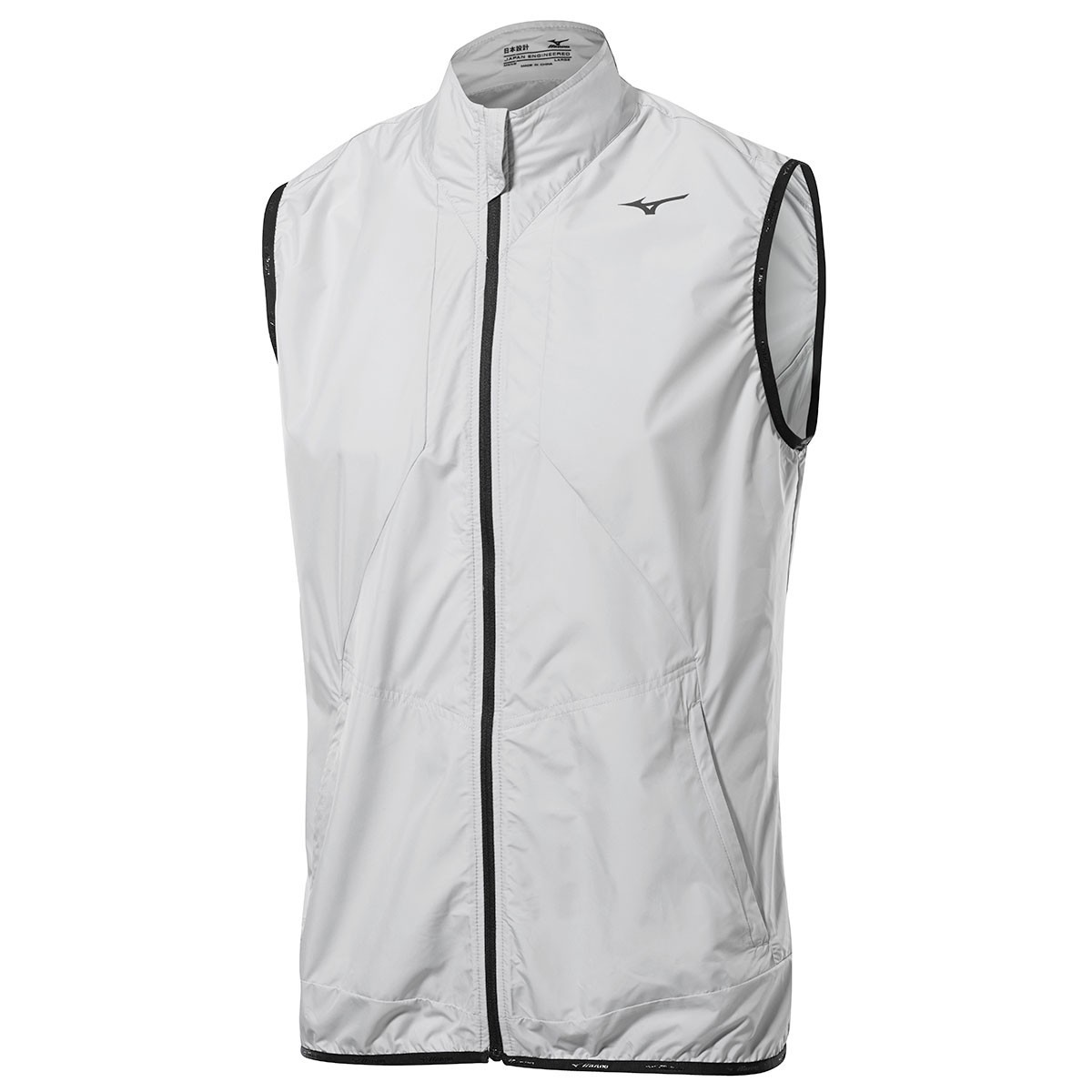 3554b7b137bbe Mizuno Golf Mens FZ Wind Vest Sleeveless Jacket - Golf Windproofs ...