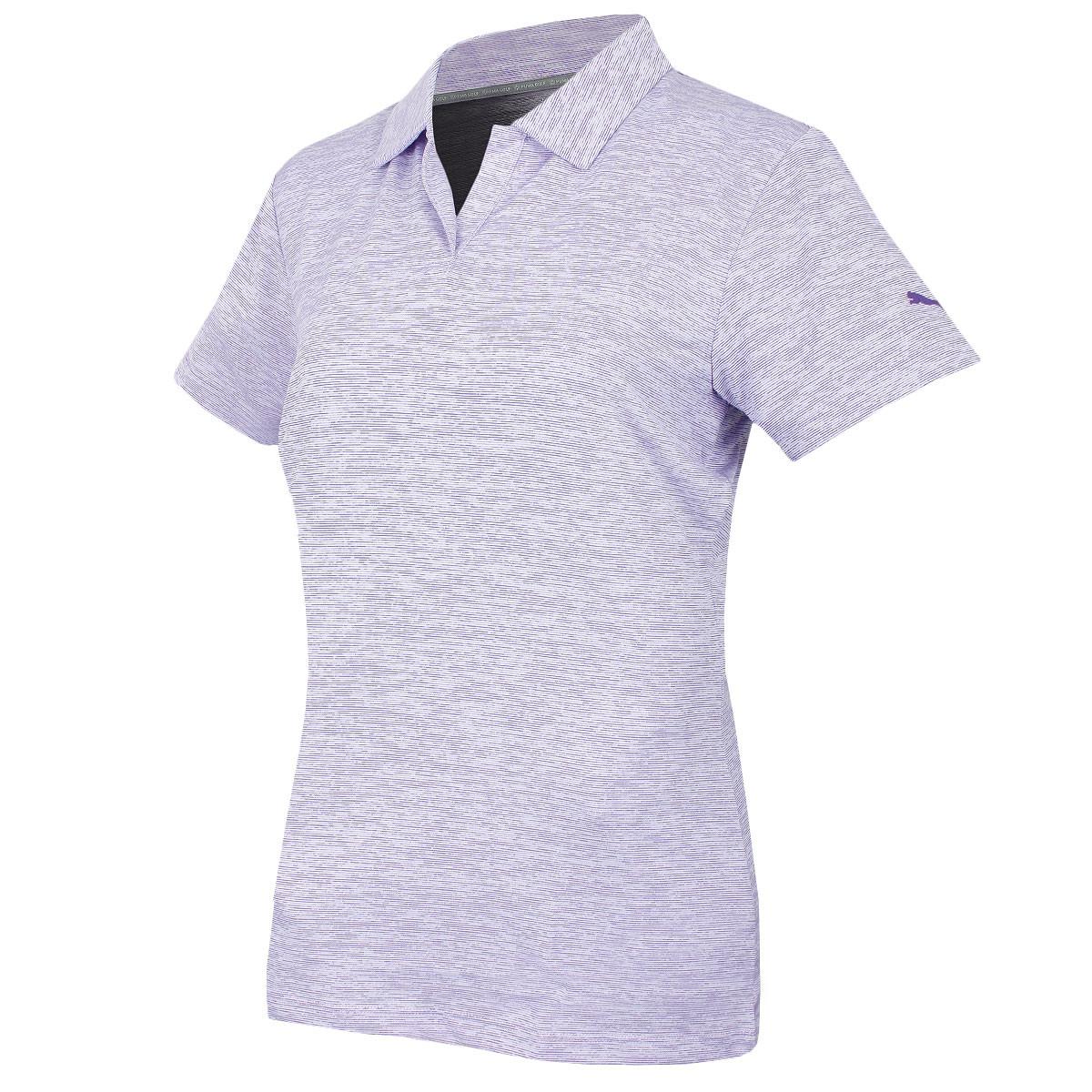 d15c9ed62c13 Puma Golf Womens Space Dye Polo Shirt - Golf Polo Shirts - Women - Golf
