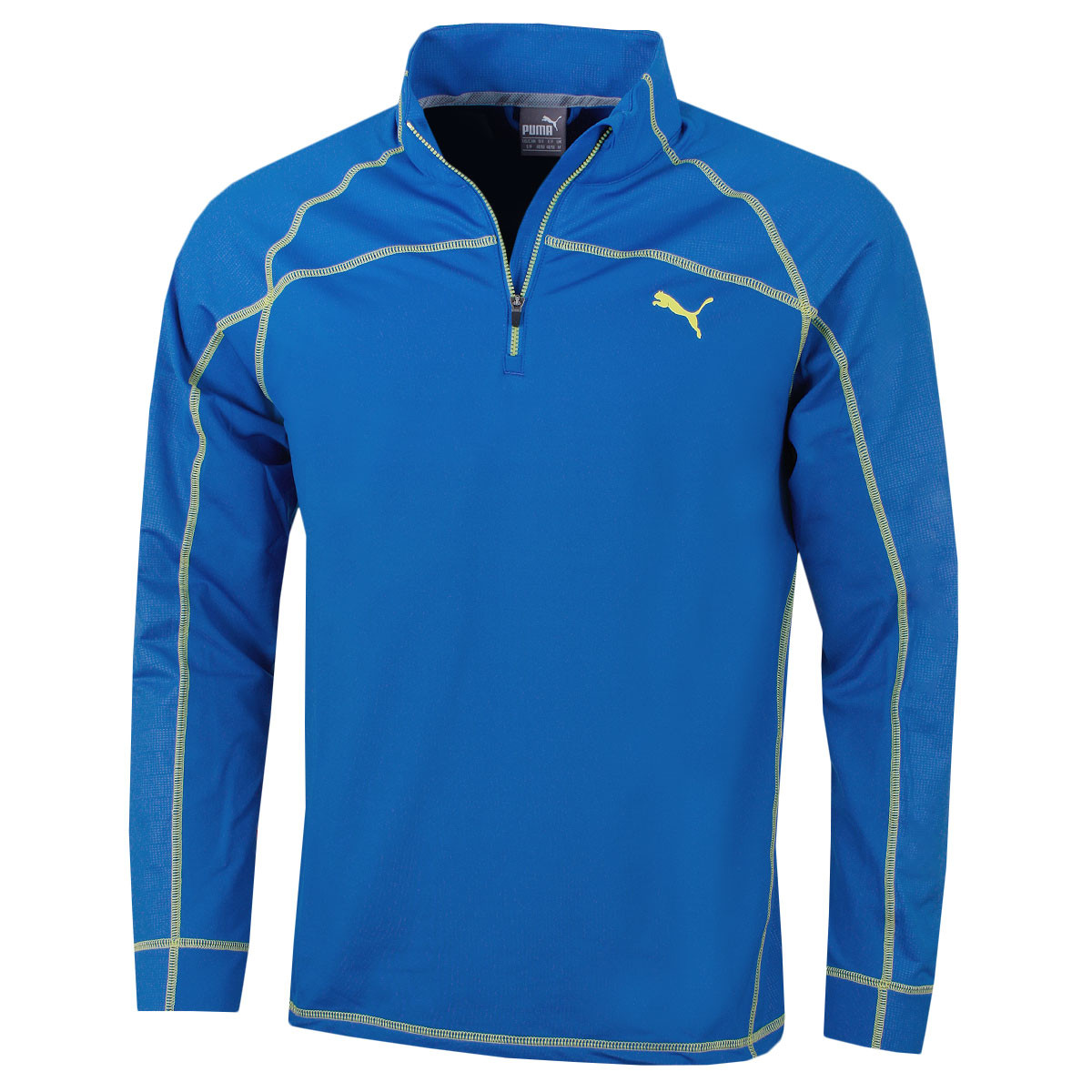 aa3967e79bfe Puma Golf Mens Embossed 1 4 Zip Popover