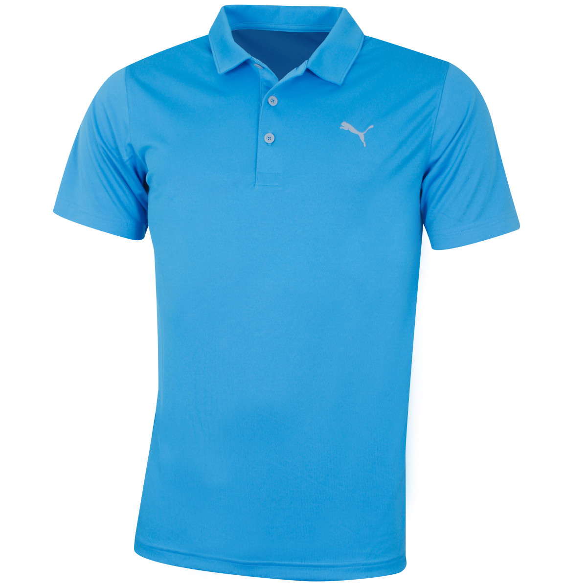 07b93167 Puma Golf Mens 2019 Rotation Solid Polo Shirt