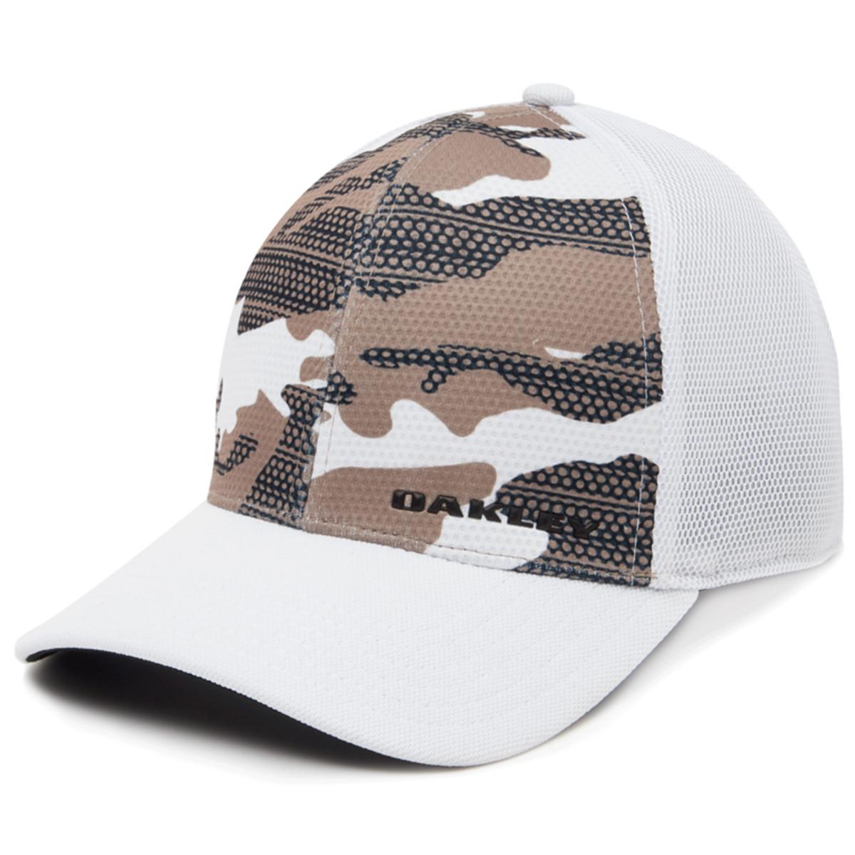 cfeba1395 Oakley Mens Silicon Bark Trucker Print 2.0 Cap - Headwear - Men - Chill
