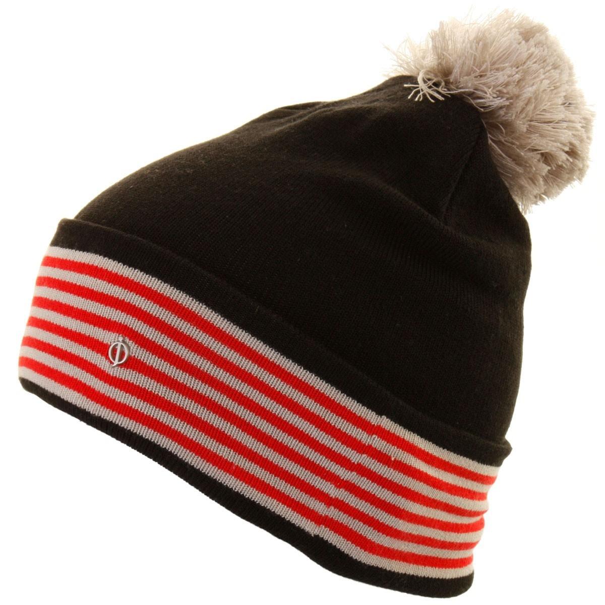 b4796c3d110 Oscar Jacobson 2015 Mens Pete Golf Hat Bobble Beanie Wooly Winter Pom Pom