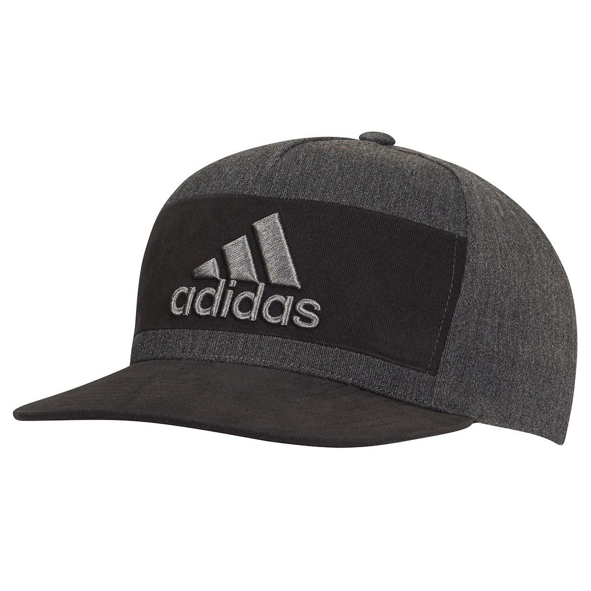 Adidas Golf 2017 Mens Heather Block Snapback Hat Cap 7f4b7d30ce11