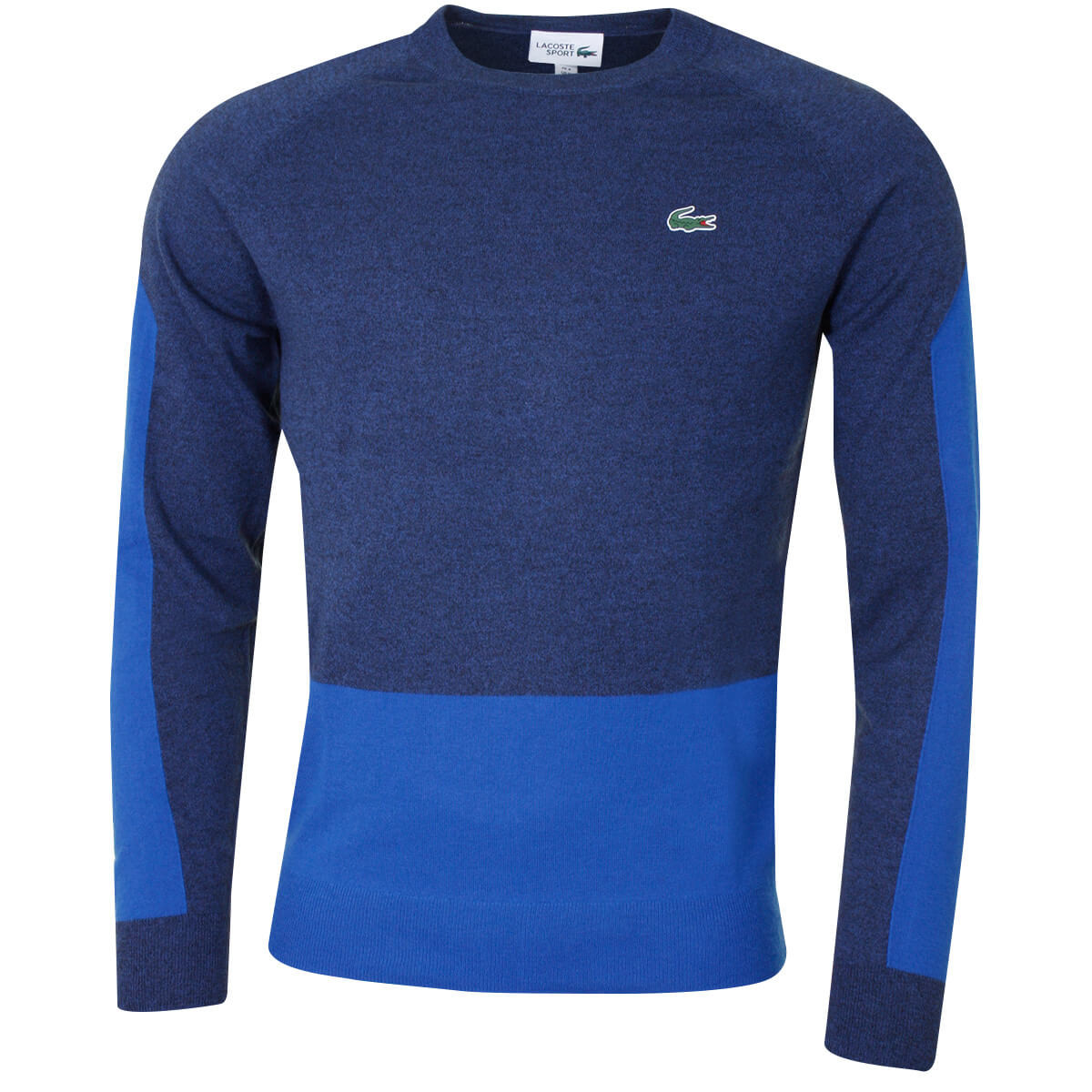 3155d8efdb Lacoste Mens 2019 Colourblock Wool Golf Sweater