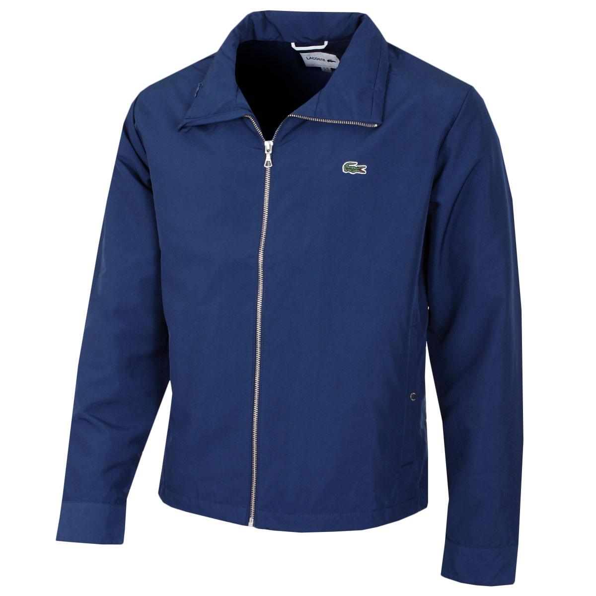 f56e5d2f284 Lacoste Mens BH2331 Full Zip Blouson Jacket - Lacoste - A-Z of ...