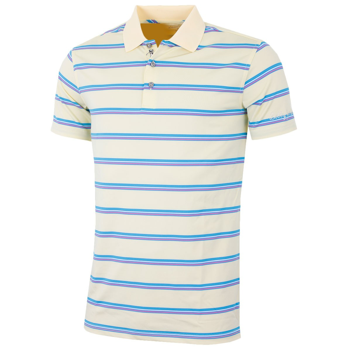4f4cf634 Bobby Jones Mens XH20 Multi Pencil Stripe TF Golf Polo Shirt - Bobby ...