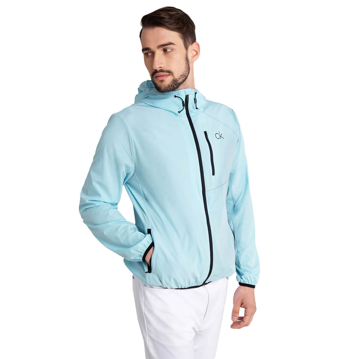 Under Armour Mens 2020 Stretch-Woven Hooded Wind Resistent Jacket 34/% OFF RRP