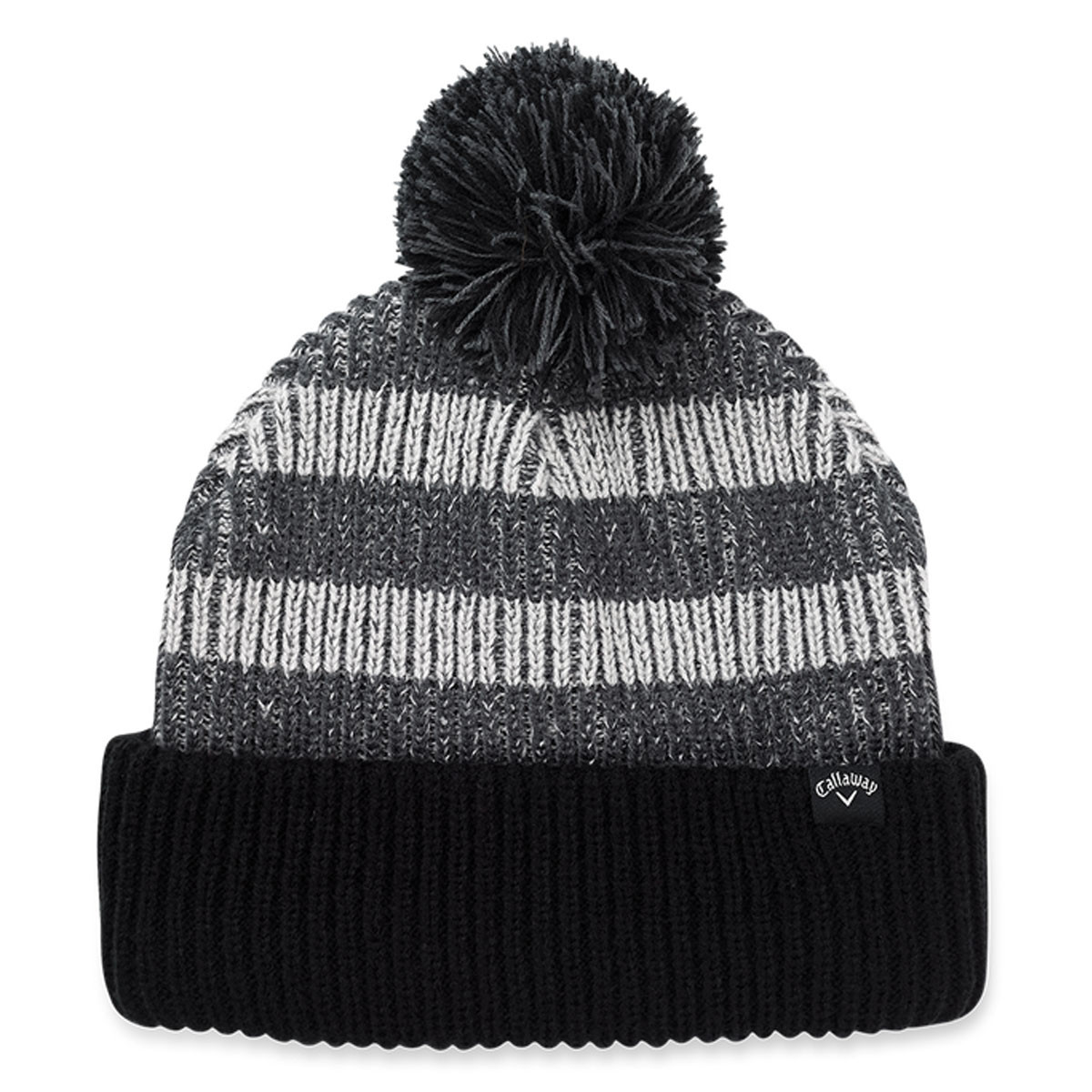 ecc22ed7145 Callaway Golf 2019 Pom Pom Knitted Extra Warmth Beanie Bobble Hat ...