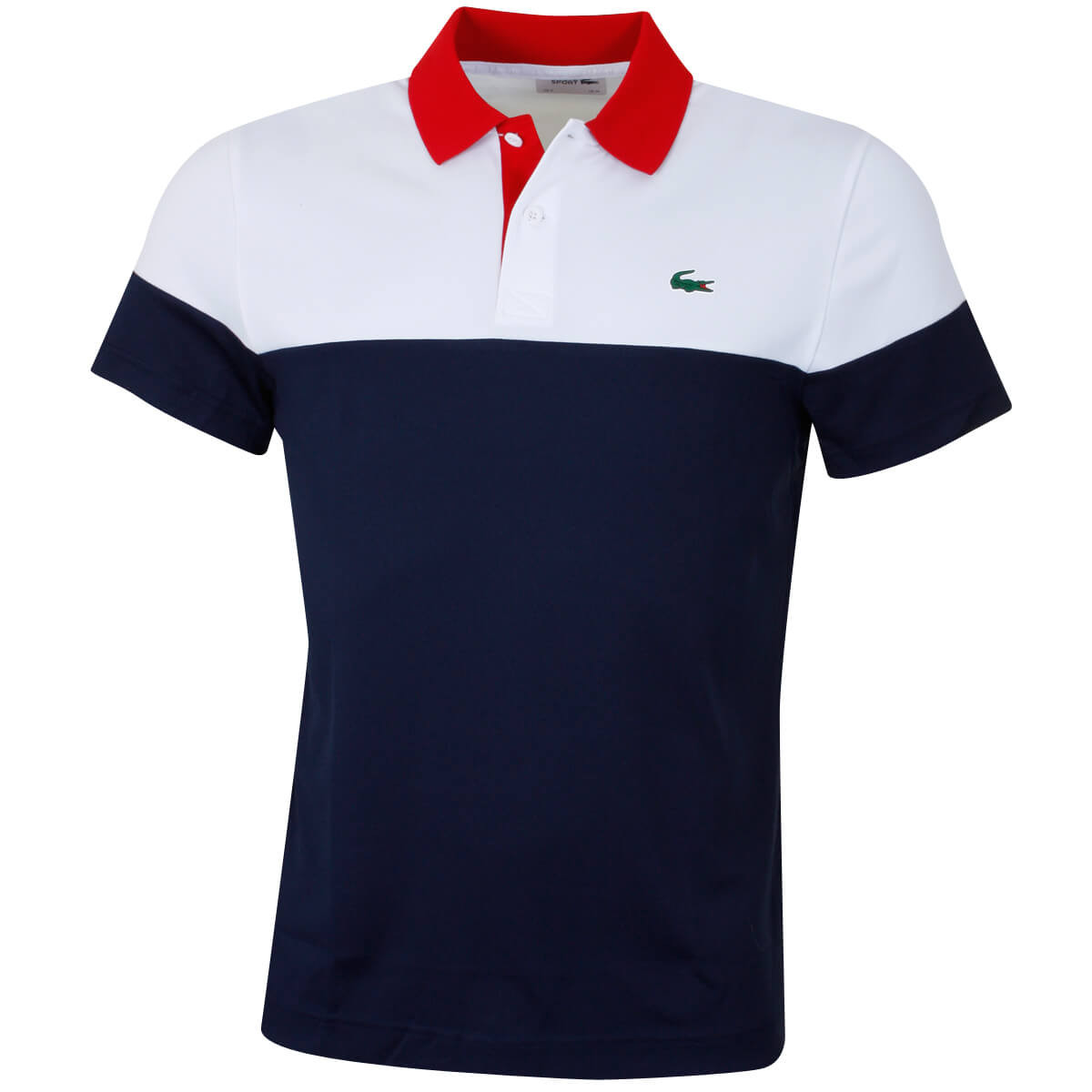 61c3bb16 Lacoste Mens 2019 Run Resistant Pique Polo Shirt