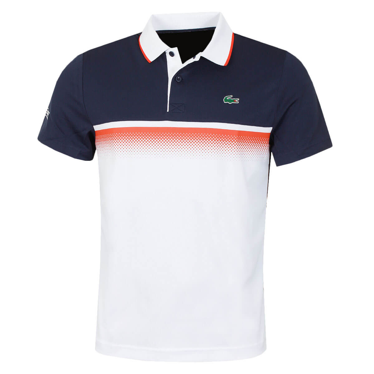 5d298e96 Lacoste Mens 2019 Aspirational Ribbed Collar Polo Shirt