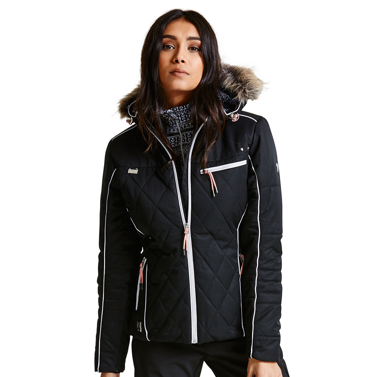 3e619a7e8a Dare2b Womens Waterproof Ornate Luxe Ski Jacket