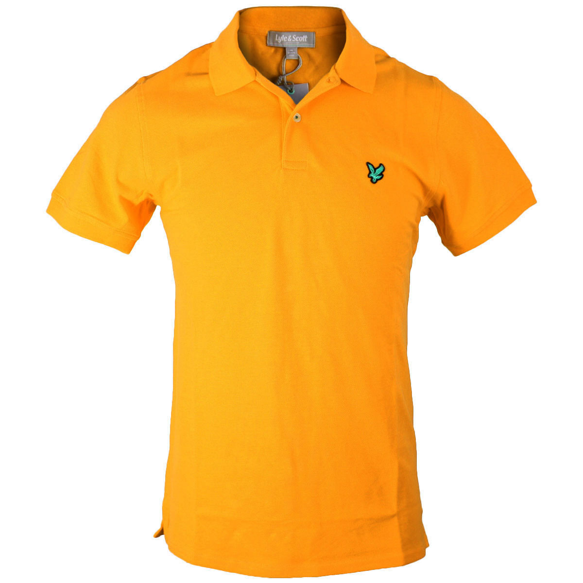 f4f3e3a9 Lyle & Scott Mens Green Eagle Club Cotton Golf Polo Shirt. Product code:  KB675C02