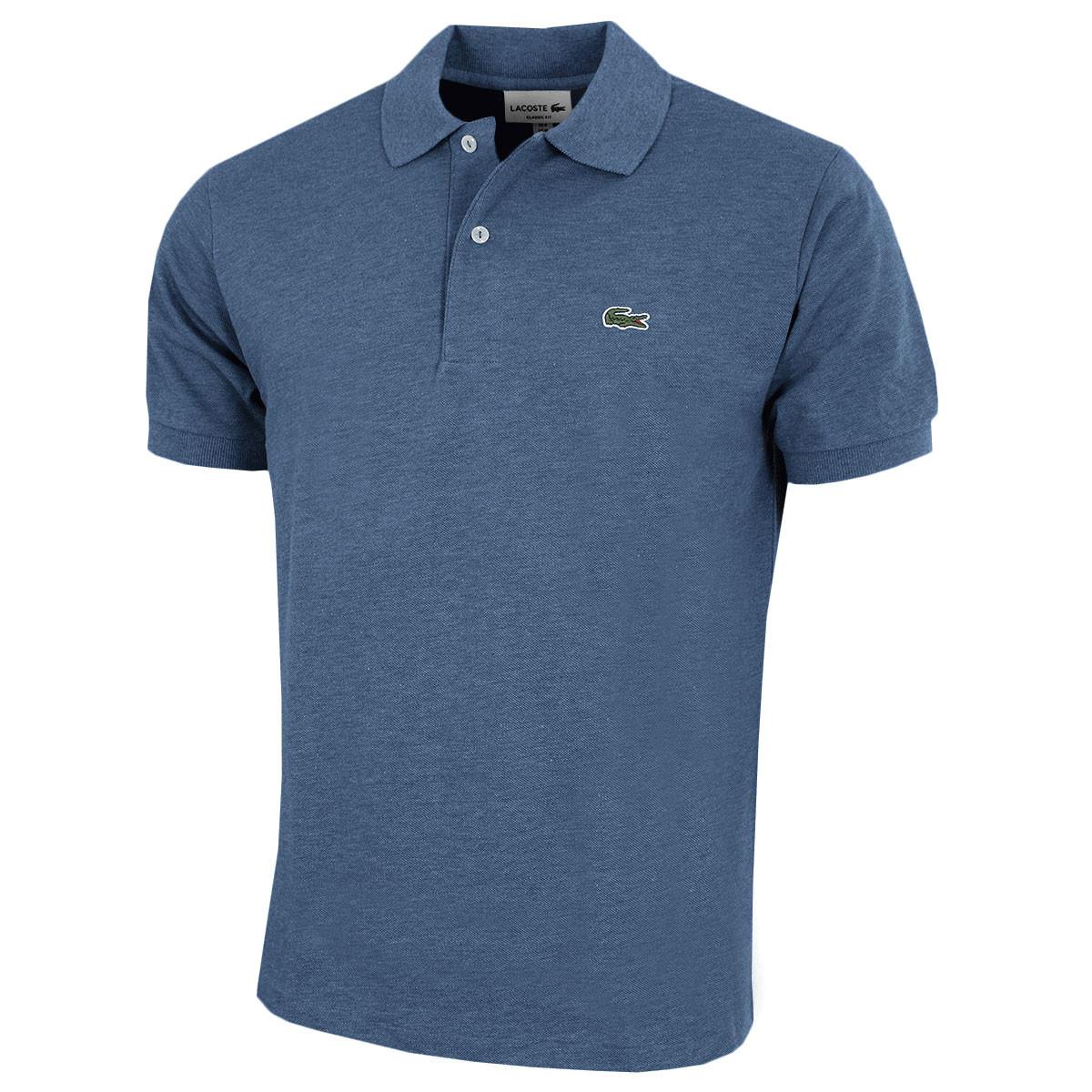 1a1cd3239 Lacoste Mens 2019 Original Mottled Polo Shirt