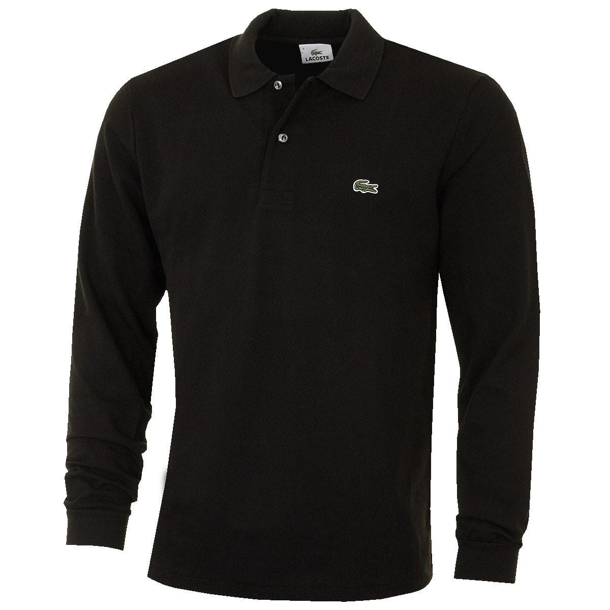 a15f6bd4 Lacoste Mens 2019 Classic Cotton LS L1312 Polo Shirt