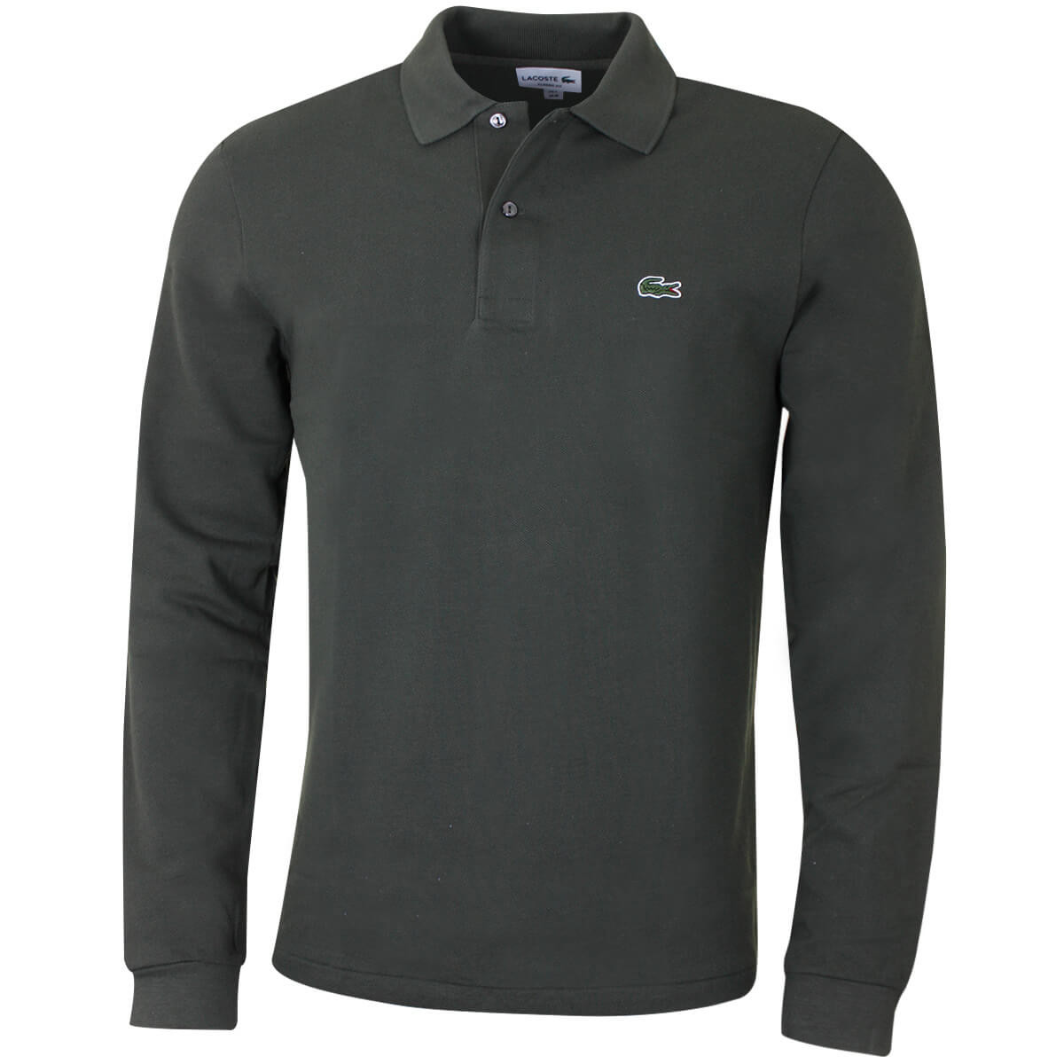 dfd965ba Lacoste Mens 2019 Classic Cotton Long Sleeve Polo Shirt