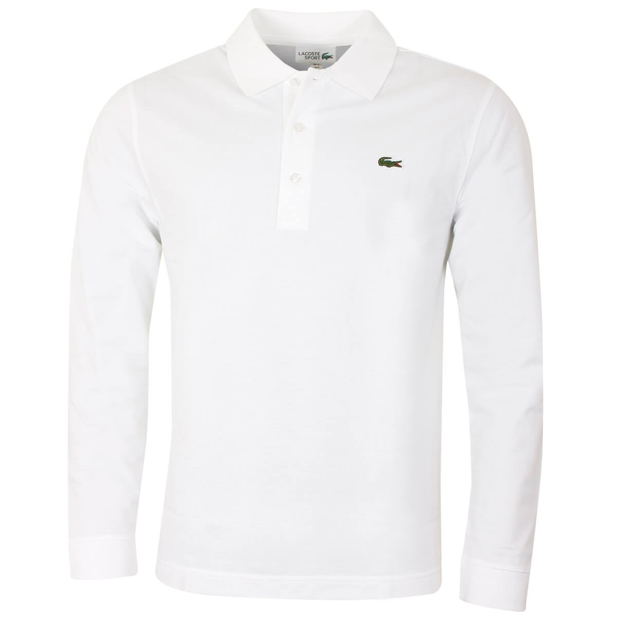 ad0046df76 Lacoste Mens 2019 Long Sleeve Ribbed Classic Polo Shirt