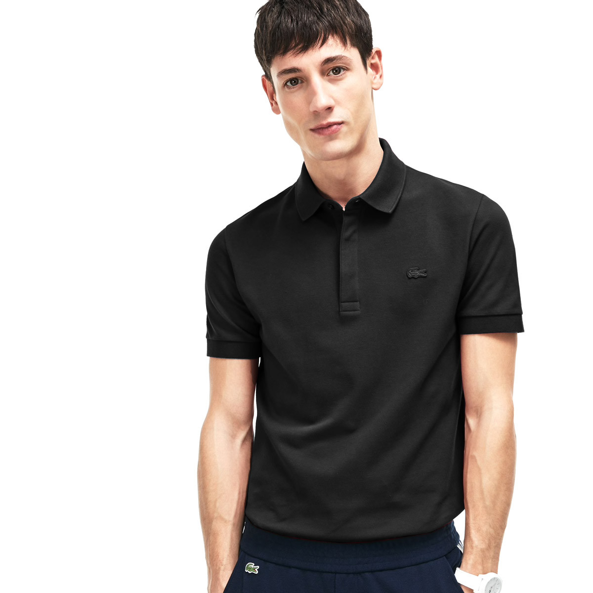 7520175a4c Lacoste Mens 2019 Paris Stretch Polo Shirt