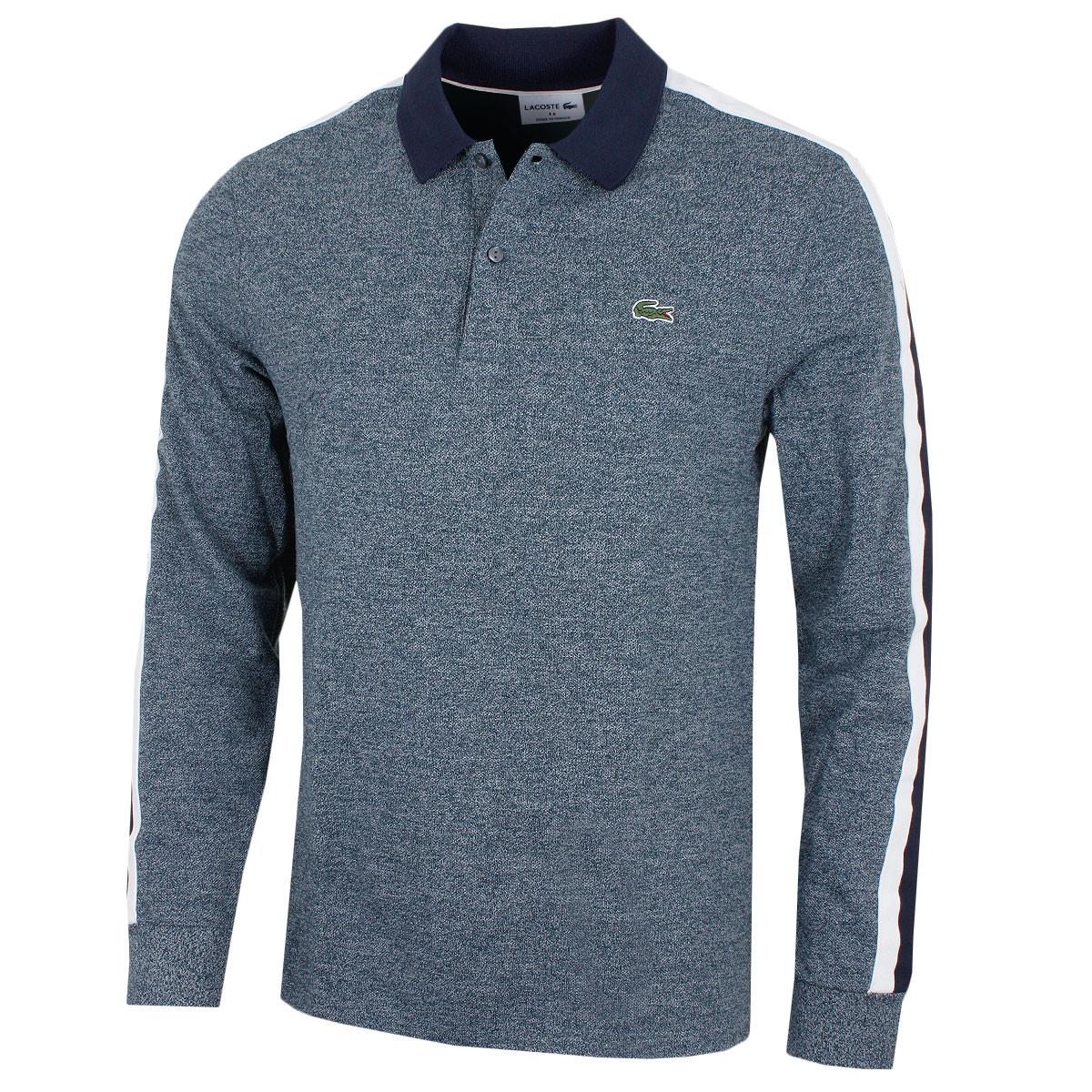 721432cafe88 Lacoste Mens Regular Fit Mouline Cotton Pique Polo Shirt