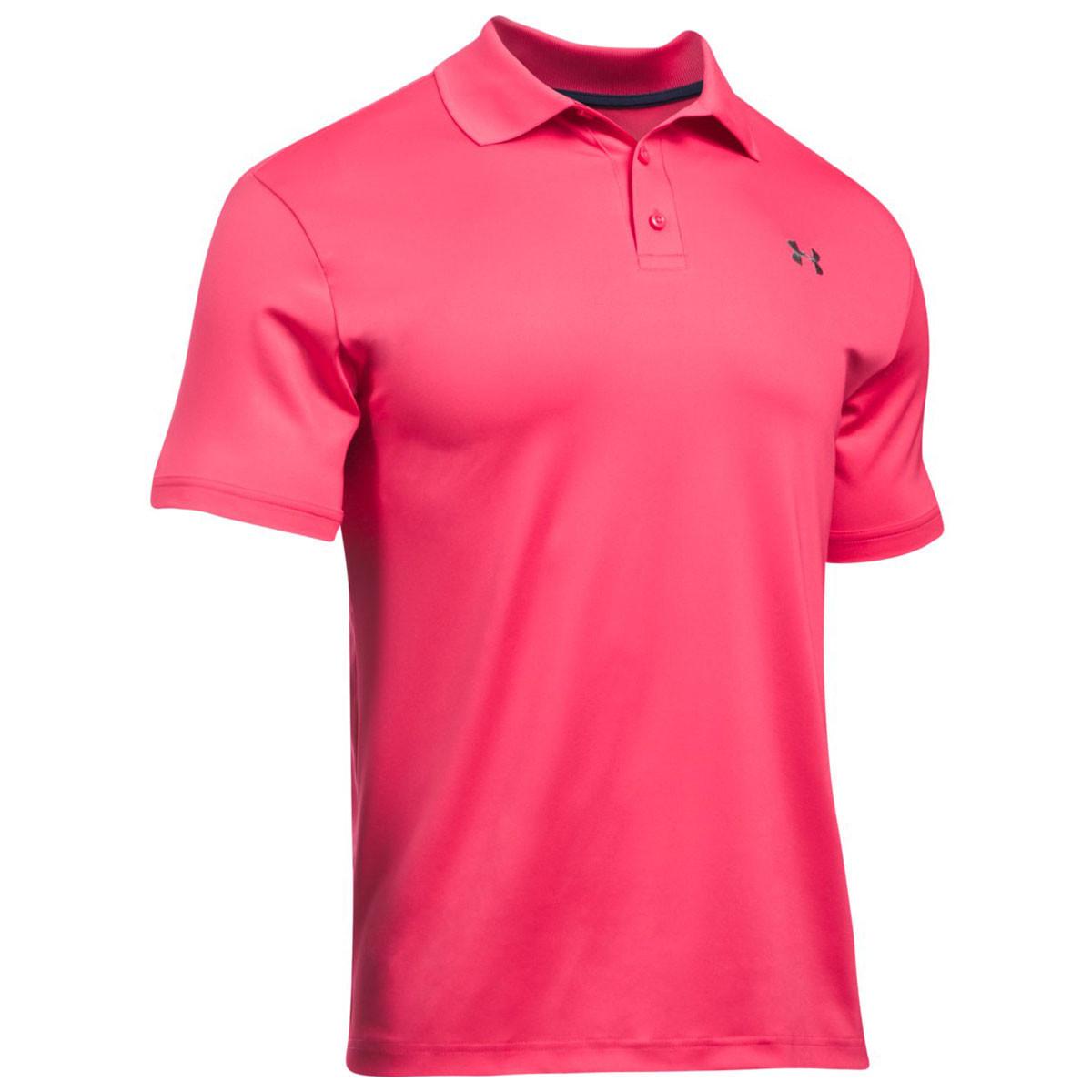 Under Armour Mens 2018 Ua Golf Tech Polo Shirt Chad Crowley