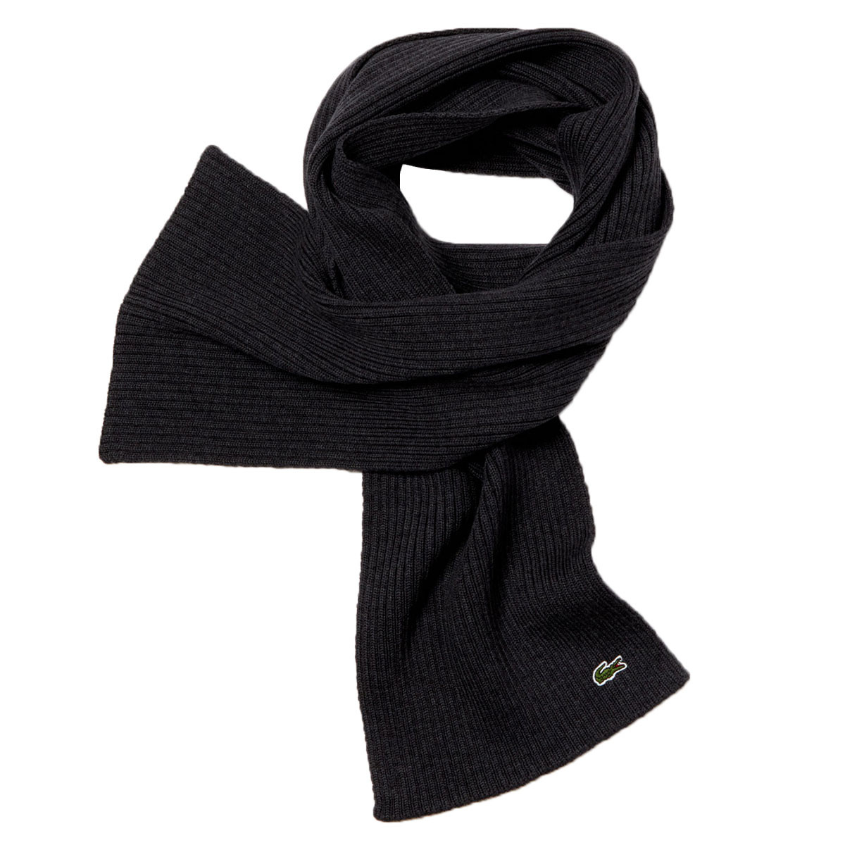 7aeab07f3 Lacoste Unisex 2019 Plain Wool Scarf Classic Smart Scarves - Scarves ...