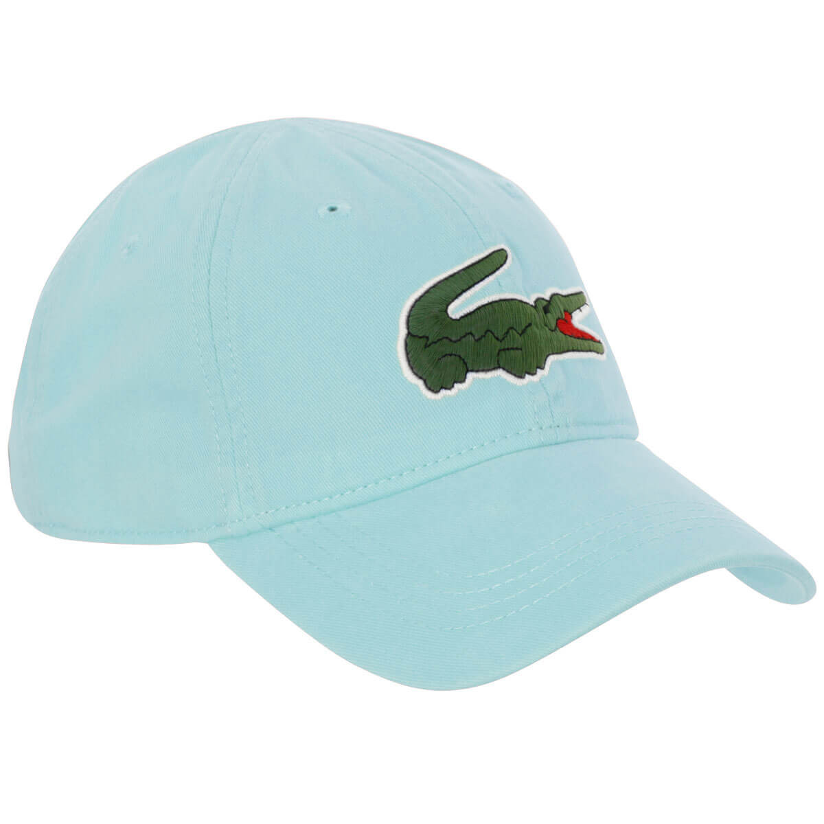7c4d989a Lacoste Mens 2019 Big Croc Gabardine Adjustable Cap - Lacoste - A-Z ...