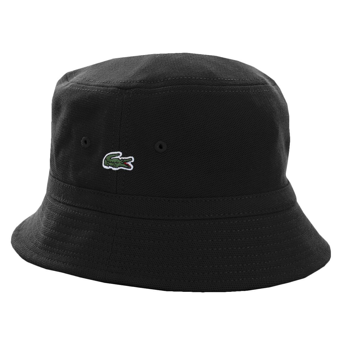Lacoste Mens 2019 RK8490 Cotton Pique Bucket Hat 896505a92c0