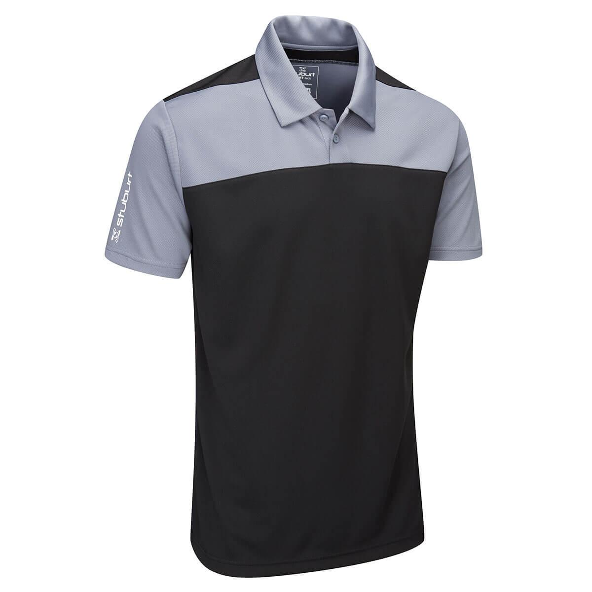 ce257e96 Stuburt Mens 2019 Sport Tech Leyburn Moisture Wicking Golf Polo Shirt