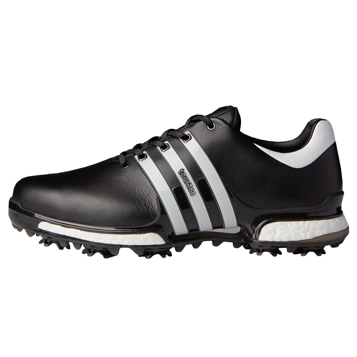 417dba3314b297 adidas Golf Mens Tour360 Boost 2.0 WD Waterproof Golf Shoes