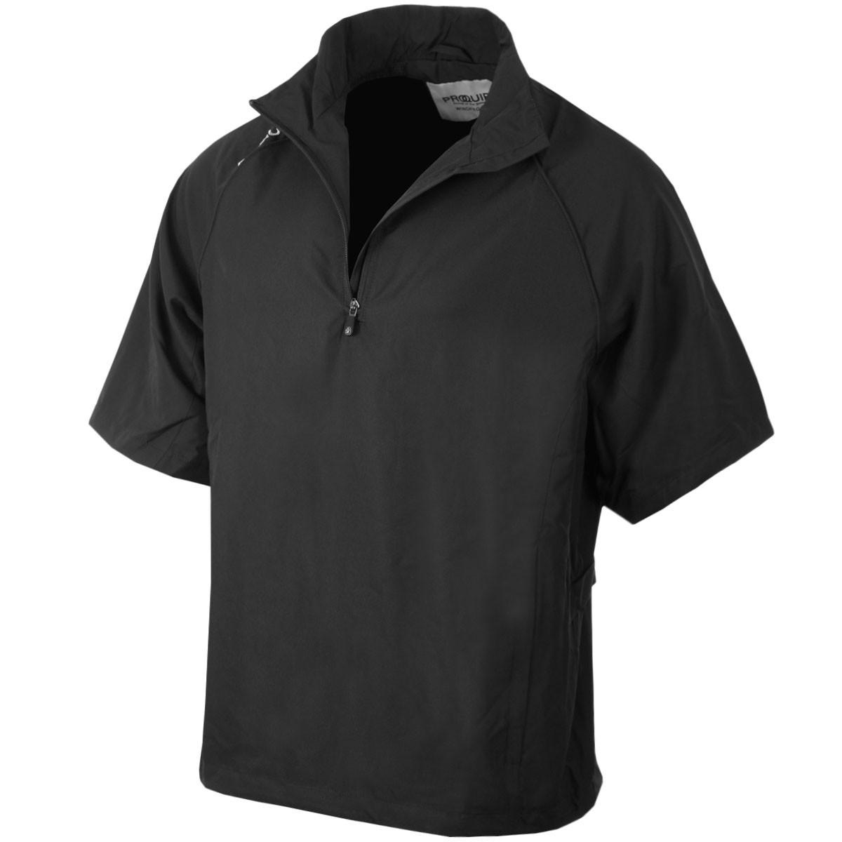 7fc0f475dcc Proquip Golf Mens Waterproof Ultralite Half Zip Wind Shirt - Proquip ...