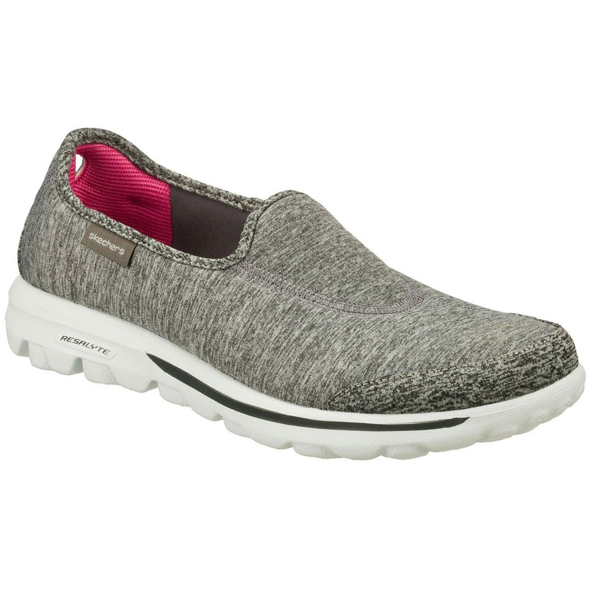 skechers womens go walk lead slip on memory foam shoes