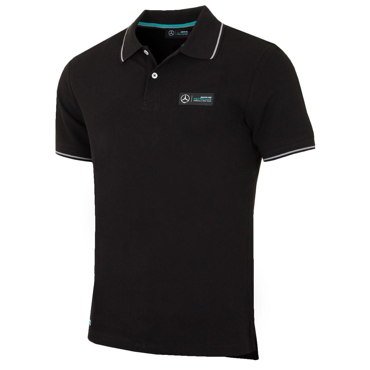 mercedes amg petronas mens classic polo shirt. Black Bedroom Furniture Sets. Home Design Ideas