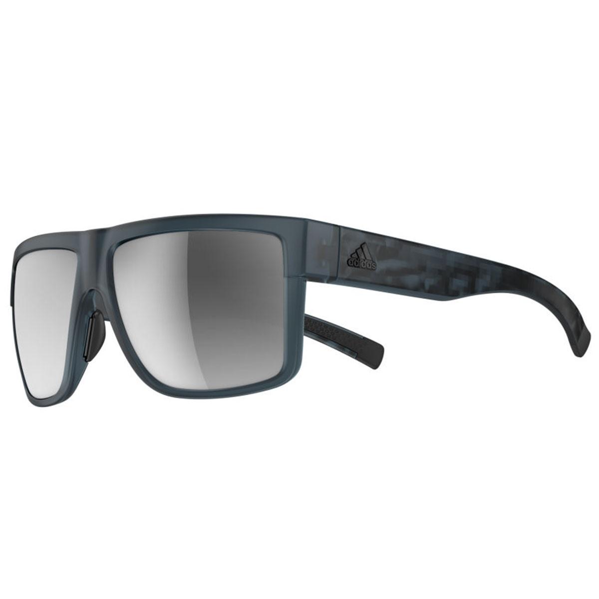Adidas 2016 3matic sunglasses blue matt chrome mirror for Mirror 0 matic