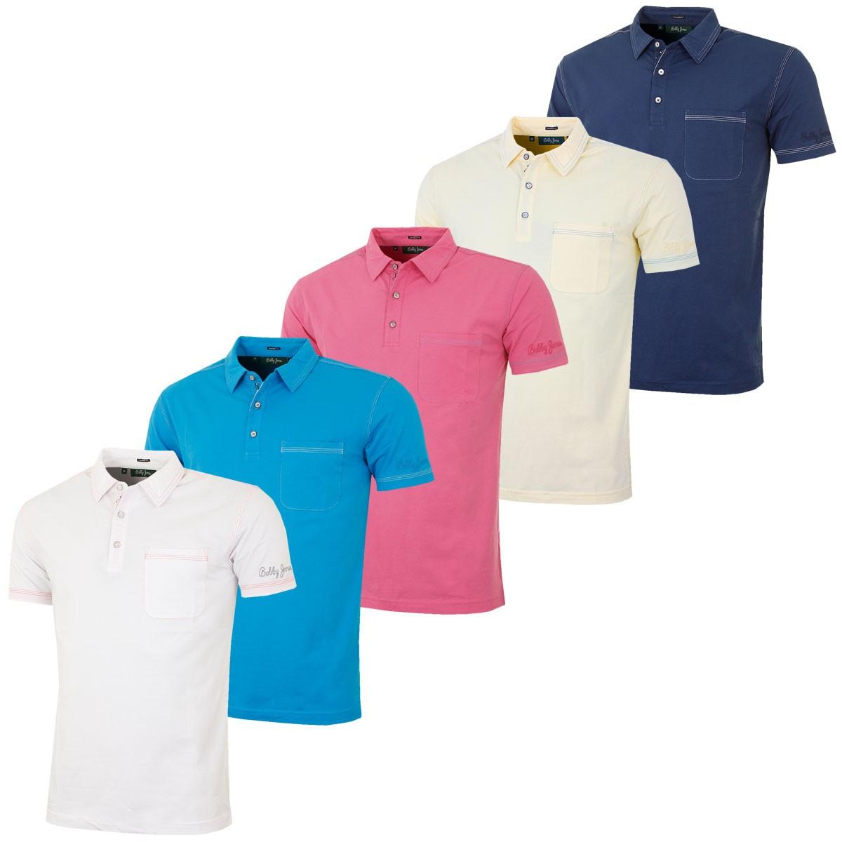 Bobby Jones 2016 Mens Jeffery Solid With Pocket Tf Polo