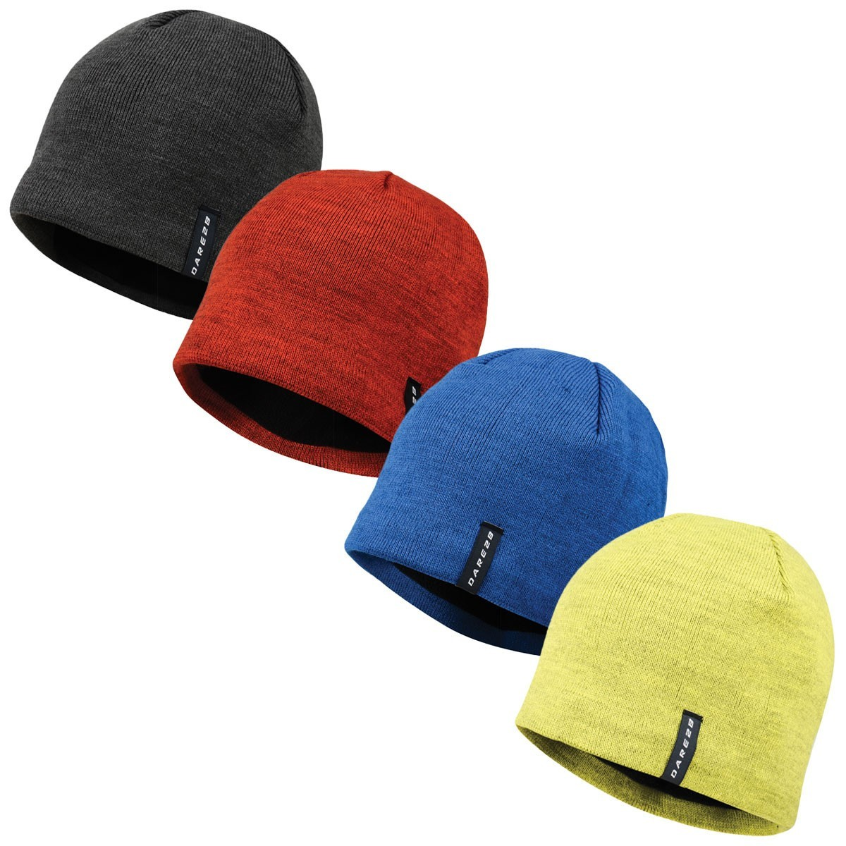 564a2155ad4 ... Dare2b Mens Prompted Beanie Fleece Hat.   Back. DMC321