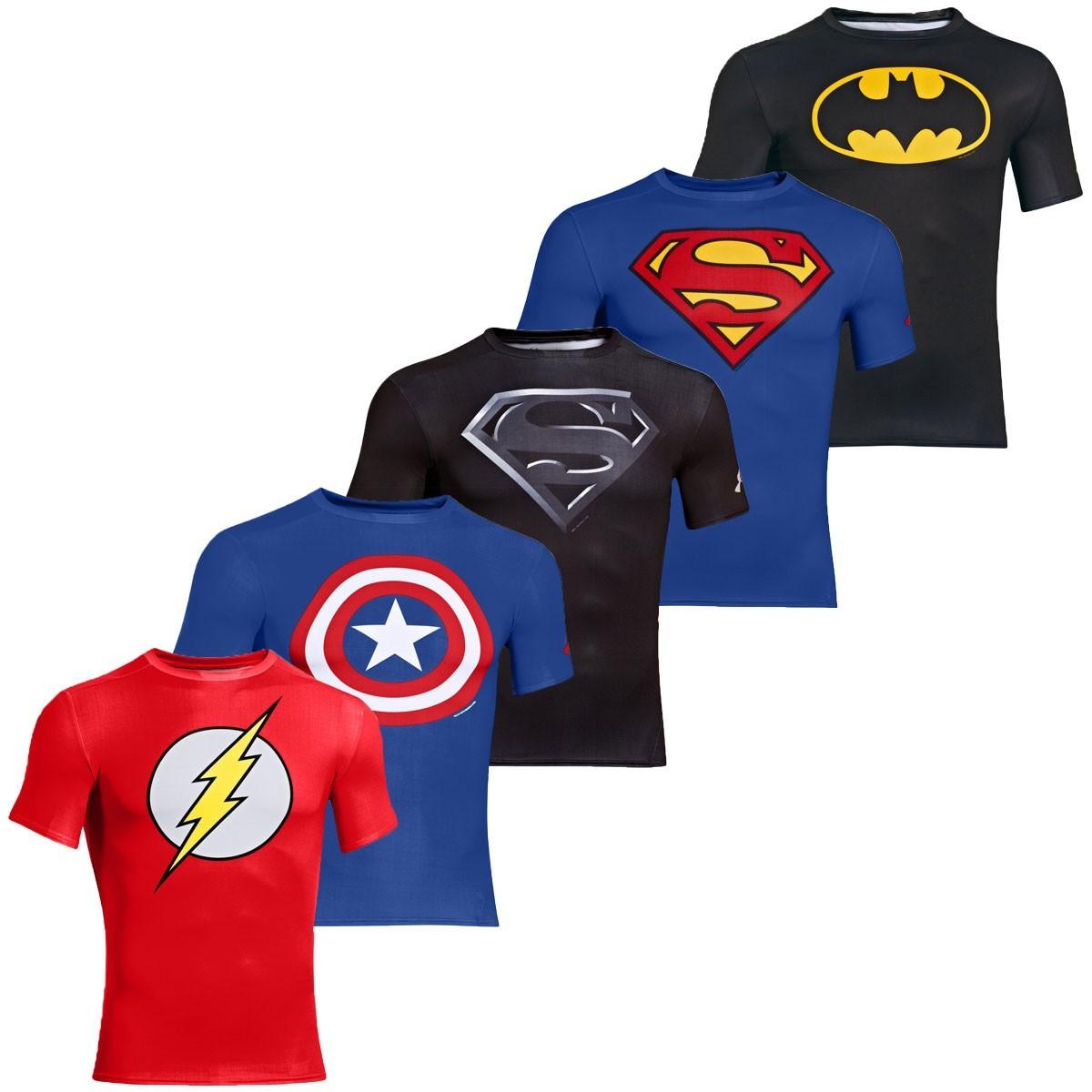 Under Armour Mens Alter Ego Compression Superhero T Shirt