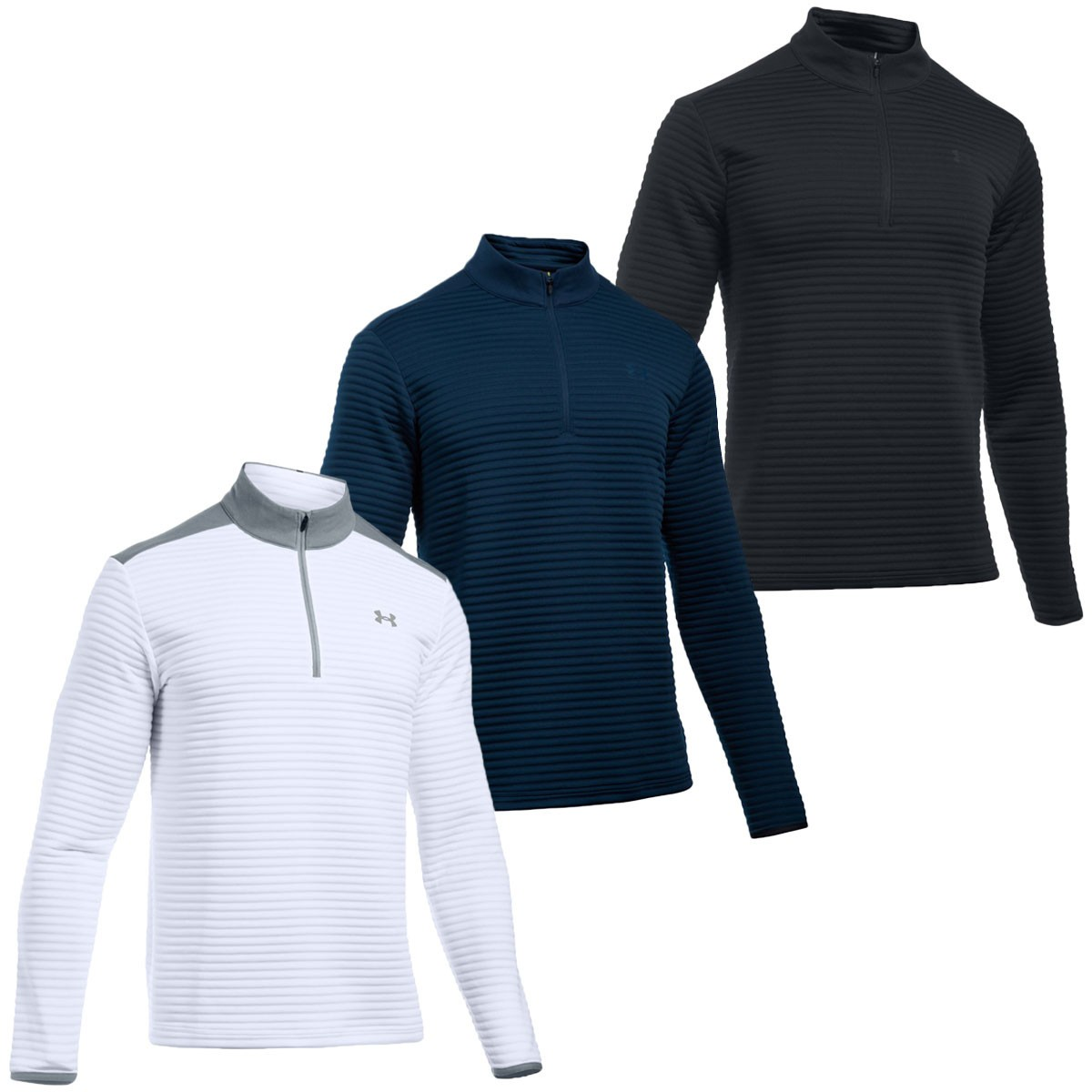 Under Armour Mens Tips Daytona 1/4 Zip Golf Pullover ...