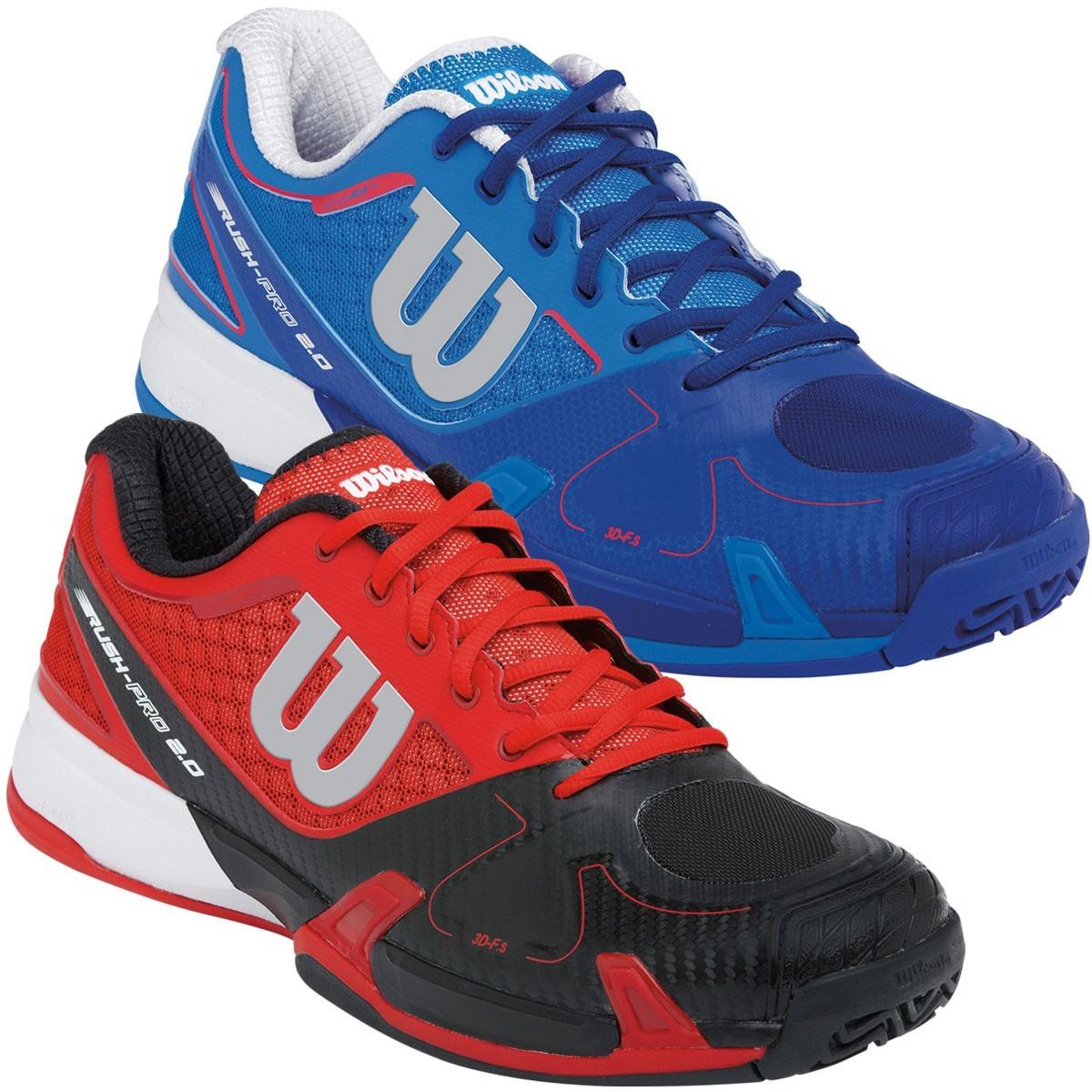 wilson mens pro 2 0 tennis shoes court trainers