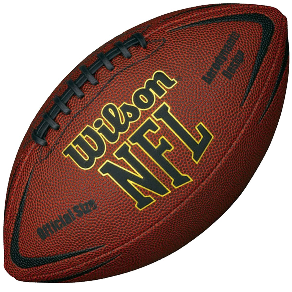 wilson nfl force official size american football wilson